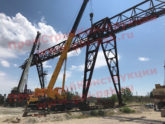 На заводе ЖБИ в республике Крым запущен новый козловой кран!