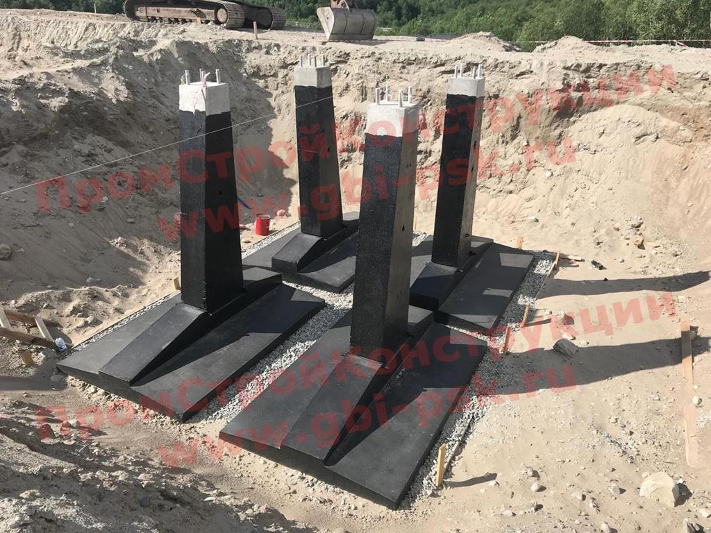 Запущены в производство ж/б фундаменты для опор высоковольтных линий серии 3.407.1-144