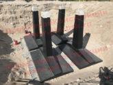Железобетонные фундаменты для опор высоковольтных линий серии 3.407.1-144