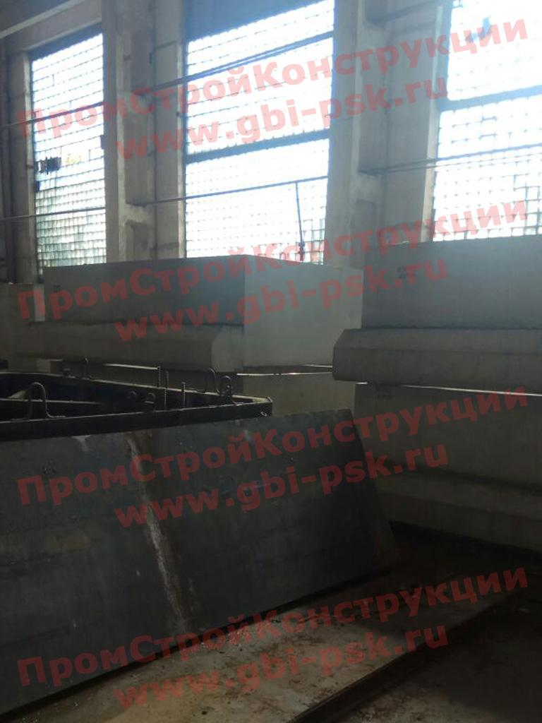 Производство звеньев оголовка ЗП ЖБИ