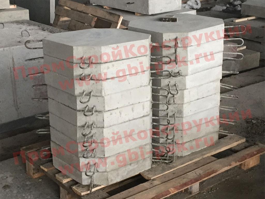 Блок бетонный Б-8