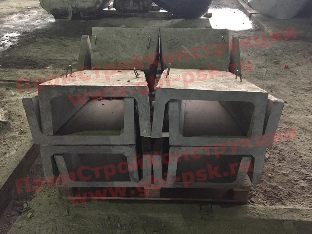 Производство лотков Б6 и Б7 из особых марок бетона