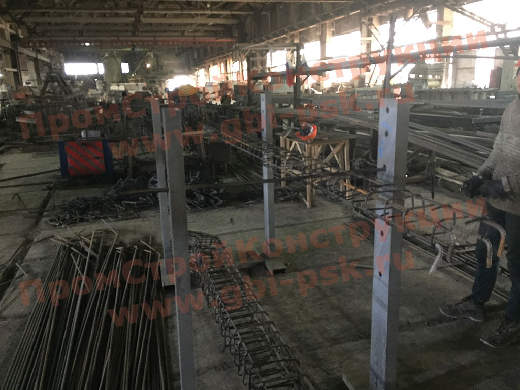 На заводе в Тосно модернизирован участок металлоконструкций и запущены в производство железобетонные сваи 30 и 35