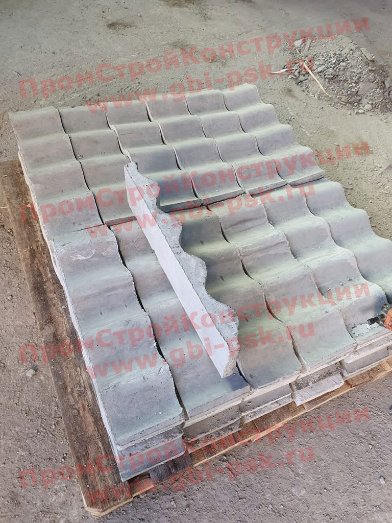 Блок лотка Л1 (100х20мм)