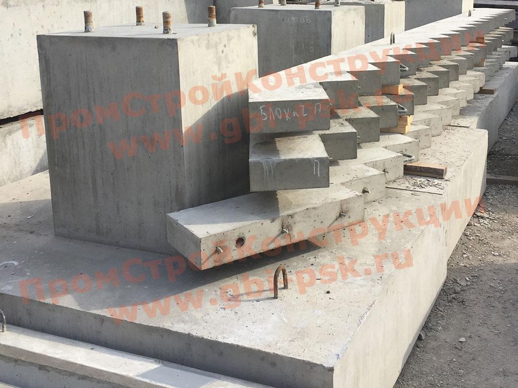 Производство железобетонных косоуров серии 3.501-96