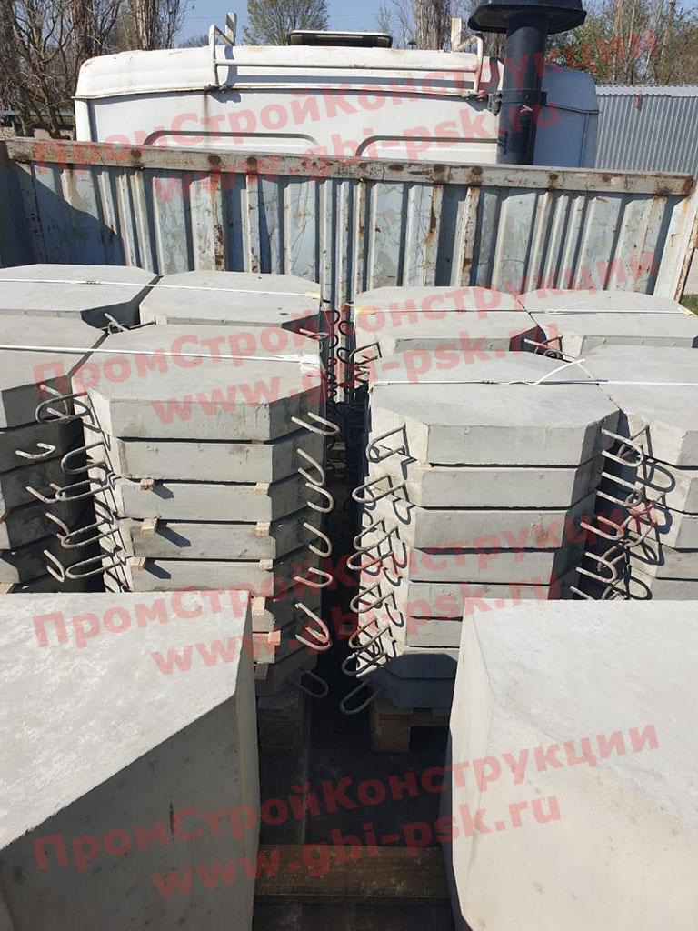 Напоминаем, наши заводы ЖБИ производят плиты П-1 укрепления откосов серии 3.501.1-156