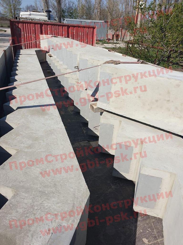 Завод ЖБИ в Санкт-Петербурге: Производство железобетонных косоуров КЛ 495.210 и 615.270