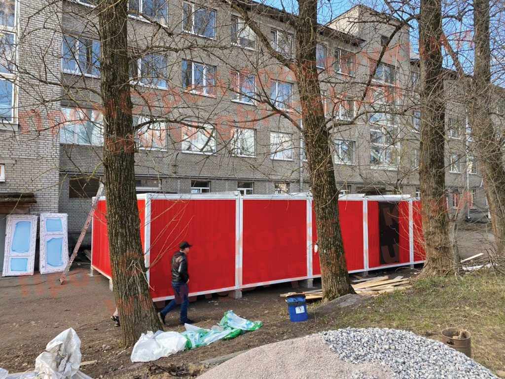 Мобильные модульные жилые и нежилые сооружения — возведение или поставки комплектующих