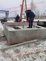 Производство ЖБИ блоков насадок для устоев 2НУ 16 опор железнодорожных мостов серии 3.501.1-150