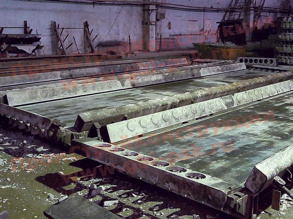 Производство железобетонных пустотных плит ПБ, ПЭ, ПК, БПК — модернизация на заводе ЖБИ в СПб