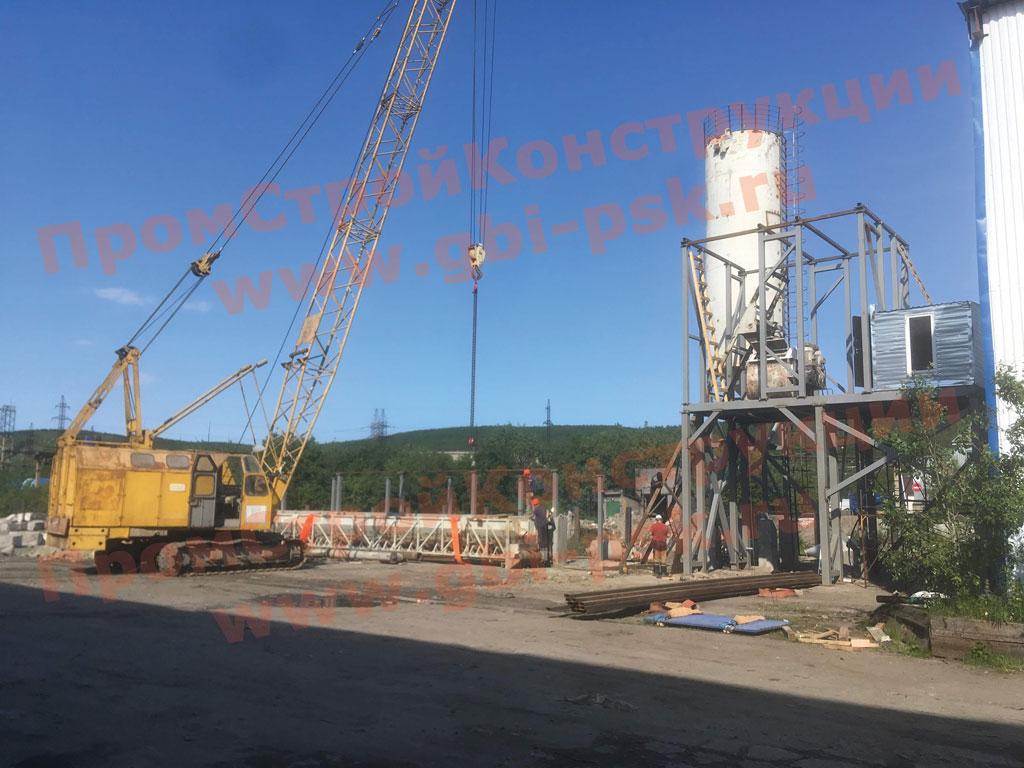 Модернизация завода ЖБИ ПромСтройКонструкции в Уфе