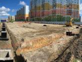 Производство колонн ЖБ и фундаментов для ТК в Санкт-Петербурге — заключительные поставки ЖБИ